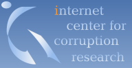 Internet Center for corruption research